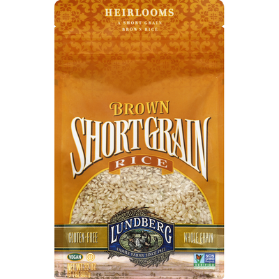 Lundberg Family Farms Brown Rice, Short Grain