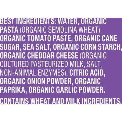 Annie's Organic Bernie O's, Tomato & Cheese Sauce