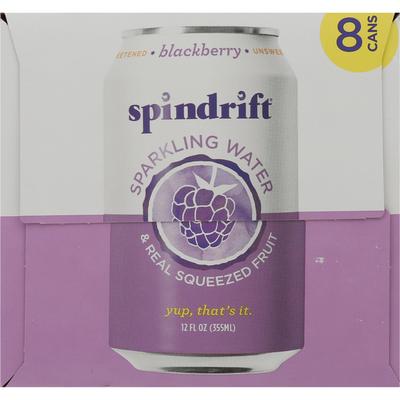 Spindrift Sparkling Water, Blackberry