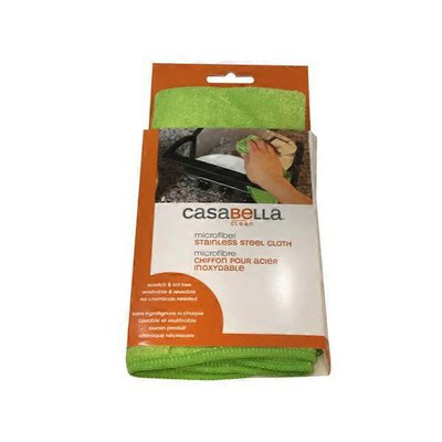 Casabella Microfiber Stainless Steel Cloth