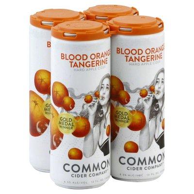 Common Cider Hard Apple Cider, Blood Orange Tangerine