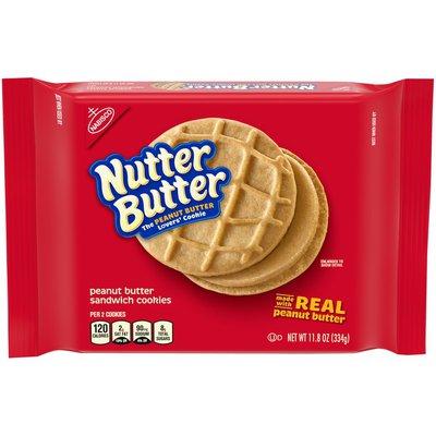 Nutter Butter Peanut Butter Sandwich Cookies