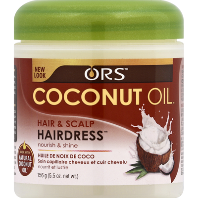 Ors Hairdress, Coconut Oil