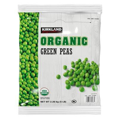 Kirkland Signature Organic Green Peas, 5 lbs