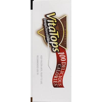Vitalicious Muffin Tops Deep Chocolate