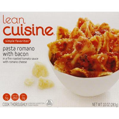 Lean Cuisine Pasta Romano with Bacon