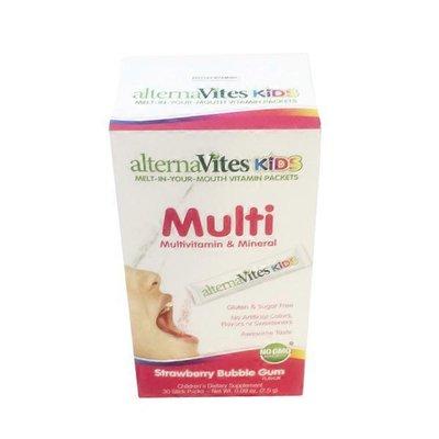 Alternavites Kids Strawberry Multivitamins