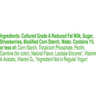 Yoplait Yogurt, Lactose Free Yogurt, Strawberry