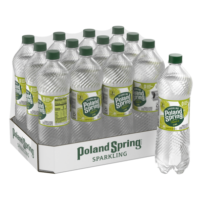 Poland spring Sparkling Water, Zesty Lime