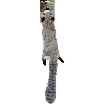 SPOT Dog Toy, Skinneeez, Raccoon