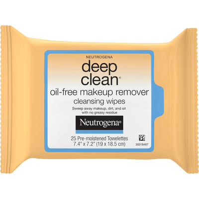 Neutrogena® Deep Clean Oil-Free Makeup Remover Cleansing Wipes