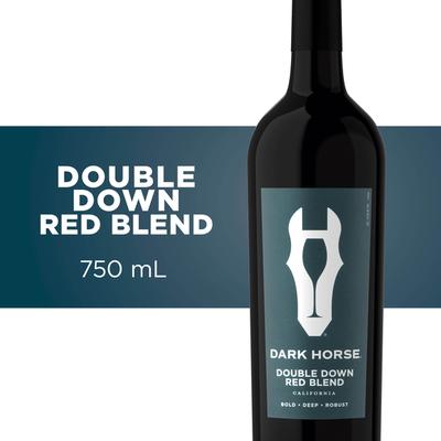 Dark Horse Red Blend, Double Down, California