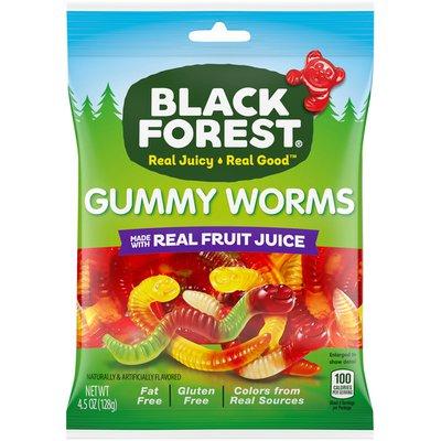 Black Forest Gummi Gummy Worms