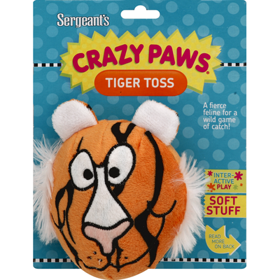 Sergeant's Dog Toy, Tiger Toss