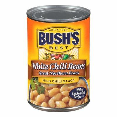 Bush's Best White Chili Beans in a Mild Chili Sauce