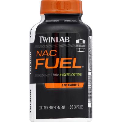 Twinlab Nac Fuel, Maximum Strength, Capsules
