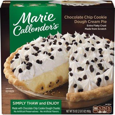 Marie Callender's Cookie Dough Cream Pie
