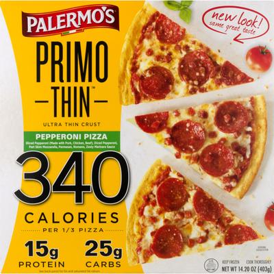 Palermo's Primo Thin Pizza Pepperoni