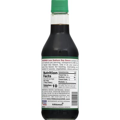 Kikkoman Soy Sauce, Less Sodium