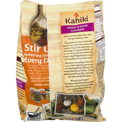 Kahiki Crispy Tempura Sweet & Sour Chicken