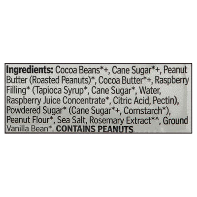 Theo Chocolate Peanut Butter & Jelly Cups, Organic, 55% Dark Chocolate
