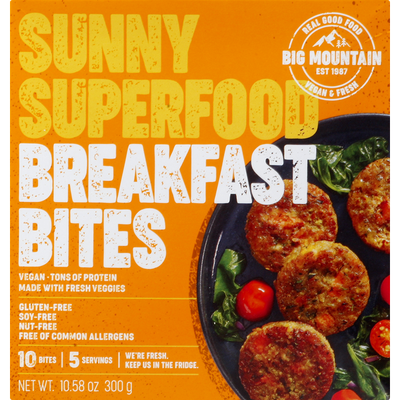 Big Mountain Foods Breakfast Bites, Sunny Superfood