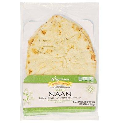 Wegmans Garlic Naan