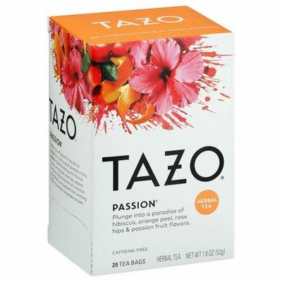Tazo Tea Passion Herbal Infusion Caffeine Free Tea Bags