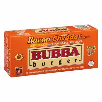 Bubba Burger Cheeseburgers, Bacon Cheddar Cheese