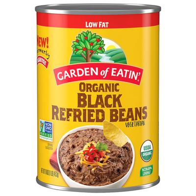 Bearitos Low Fat Refried Black Beans