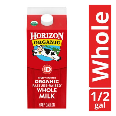 Horizon Organic Whole High Vitamin D Milk