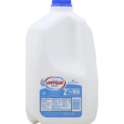 Umpqua Milk, Reduced Fat, 2% Milkfat