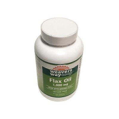 Wheatsville Flax Oil Soft Gels