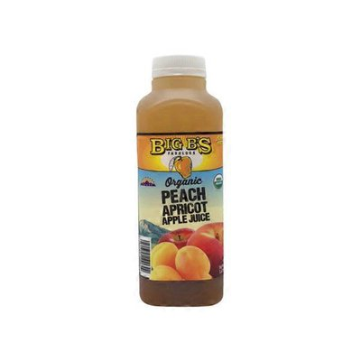 Big B's Juice Apple Peach Apricot Juice