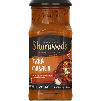 Sharwood's Cooking Sauce, Tikka Masala, Medium