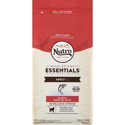 Nutro Cat Food, Natural, Salmon & Brown Rice Recipe, Adult 1+ Years