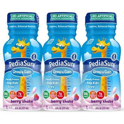 PediaSure Grow & Gain Kids' Nutritional Shake Berry