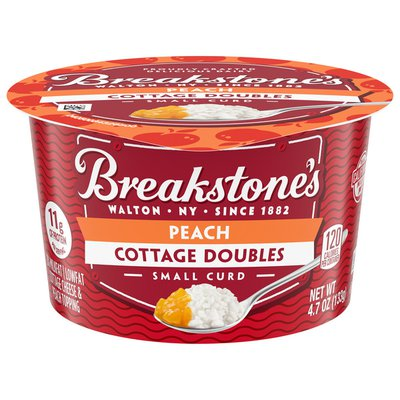 Breakstone'S Cottage Doubles Cottage Cheese & Peach Topping