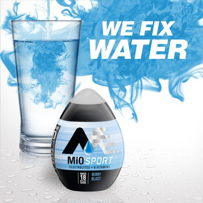MiO Berry Blast Naturally Flavored Liquid Water Enhancer with Electrolytes & B Vitamins
