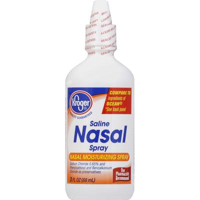 Kroger Nasal Spray, Saline