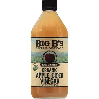 Big Bs Vinegar, Organic, Apple Cider