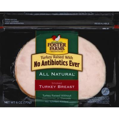 Foster Farms Turkey Breast, Smoked