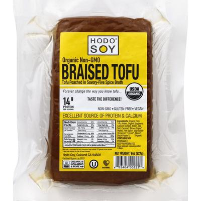 Hodo Soy Tofu, Organic Non-GMO, Braised