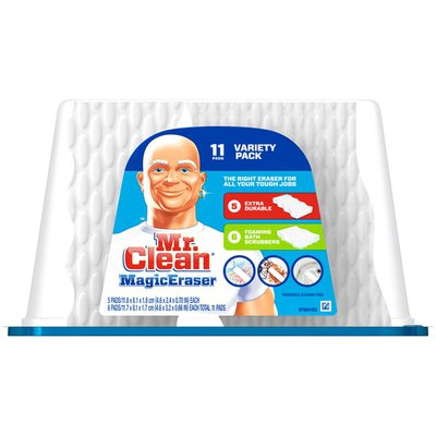 Mr. Clean Magic Eraser Mr. Clean Magic Eraser Sponge Variety Pack & Tub Cleaner 11ct. Surface Care
