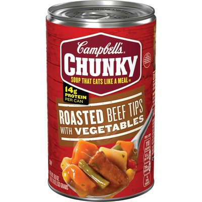 Campbell's® Chunky® Roasted Beef Tips with Vegetables Soup