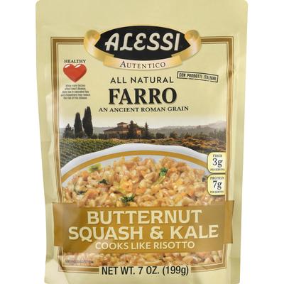 Alessi Farro, Butternut Squash & Kale