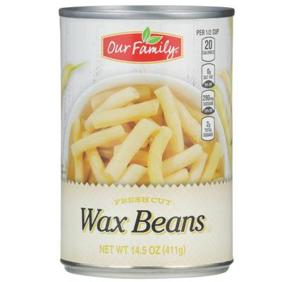 Our Family Fresh Cut Wax Beans