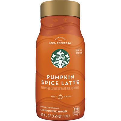 Starbucks Iced Espresso Classics Pumpkin Spice Latte