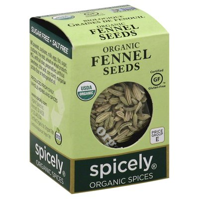 Spicely Fennel Seeds, Organic