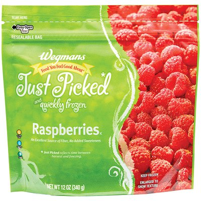 Wegmans Food You Feel Good About Just Picked Red Raspberries